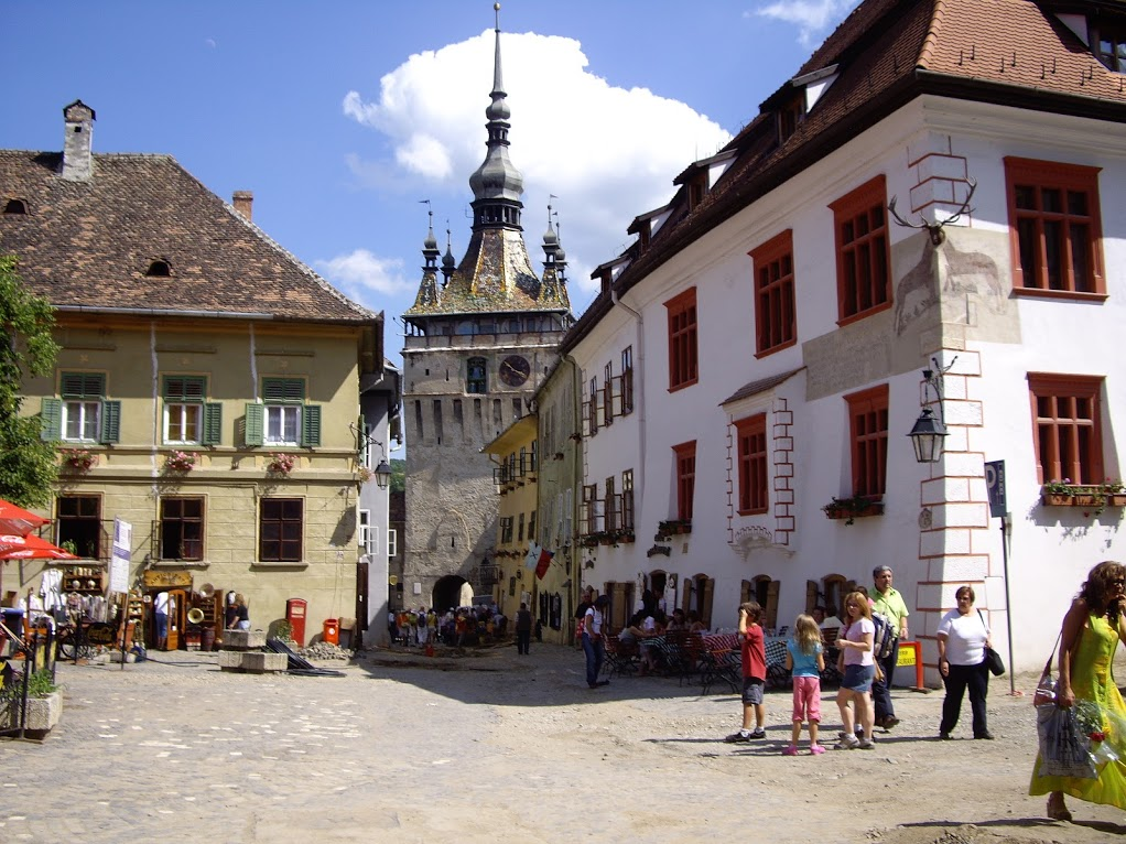 Sighisoara Citadel in Transylvania.