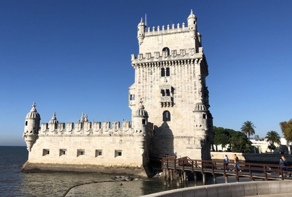 Sightseeing in Lisbon, Portugal.