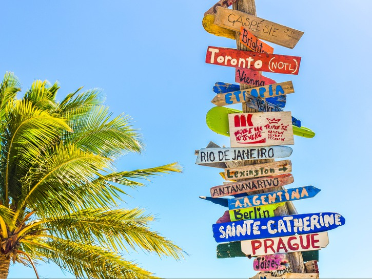 signpost directions
