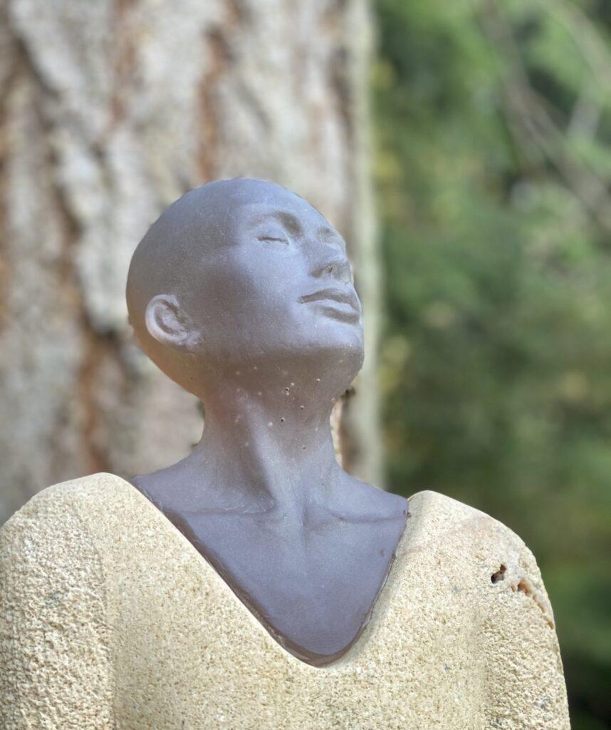 """""""Silent Watchers,"""" Lloyd Whannell, Matzke Sculpture Park And Gallery."""