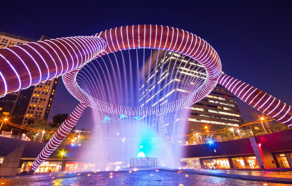 Singapore's Fountain Of Wealth.
