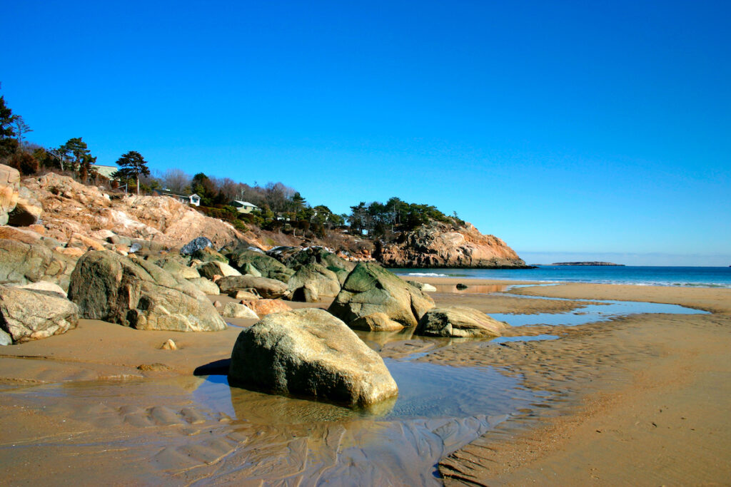 Singing Beach in Manchester-By-The-Sea, Massachusetts.