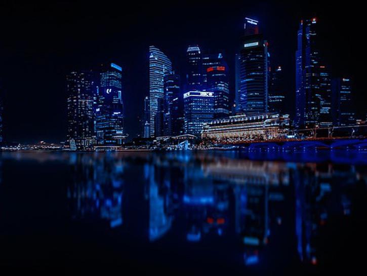 Singpore at night