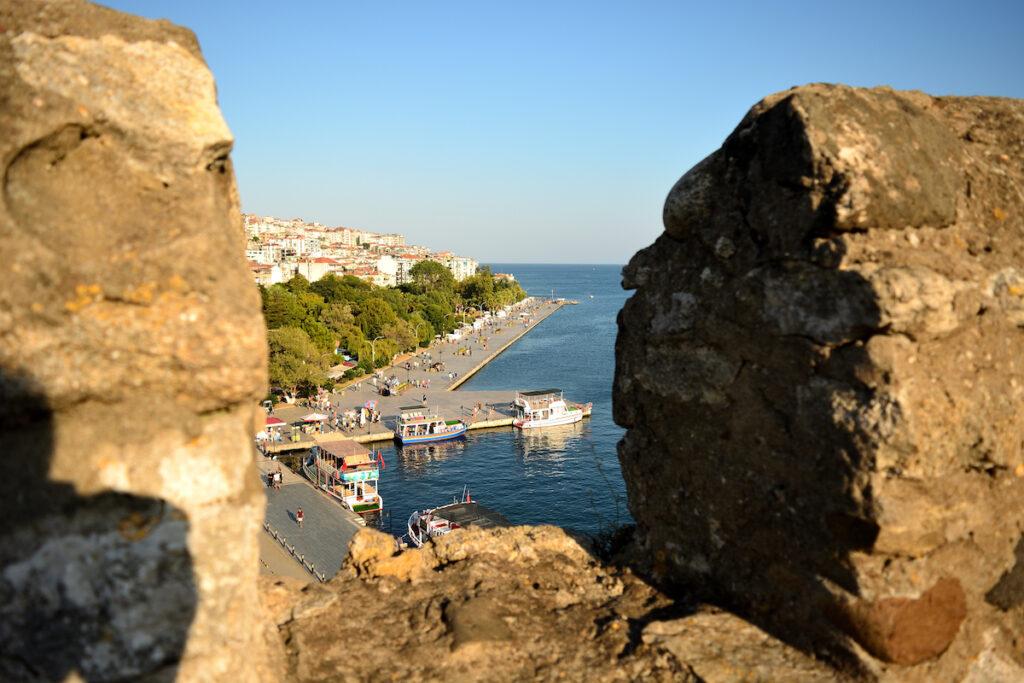 Sinop, Turkey, view from Sinop castle.