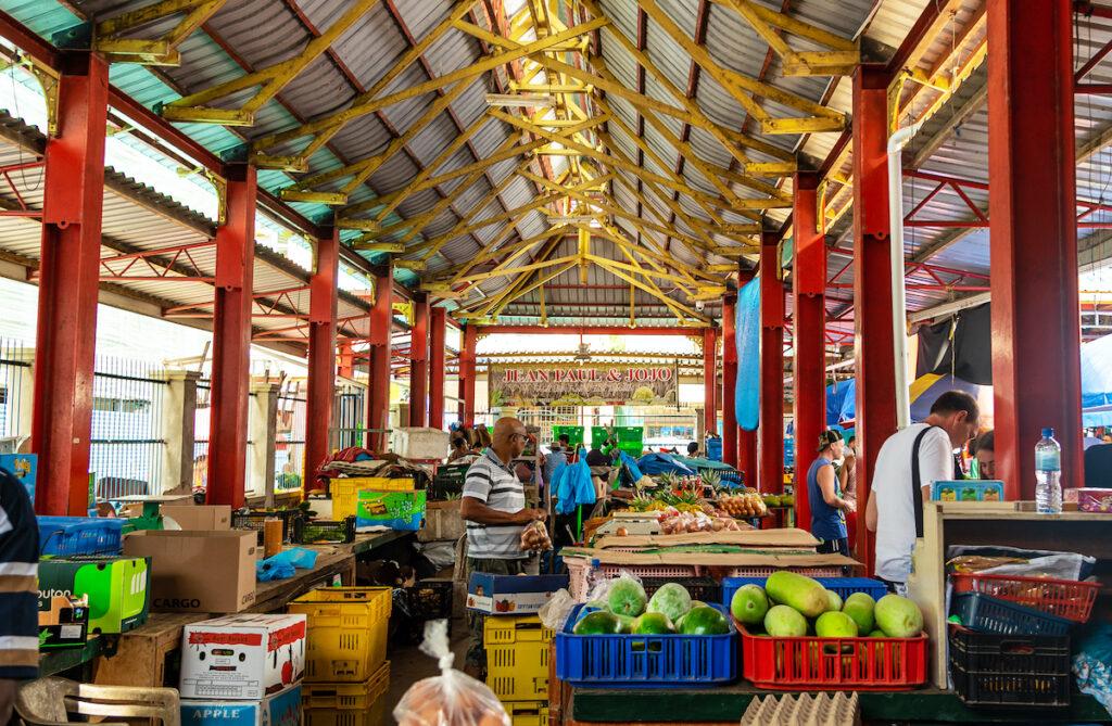 Sir Selwyn Selwyn-Clarke Market in the Seychelles.