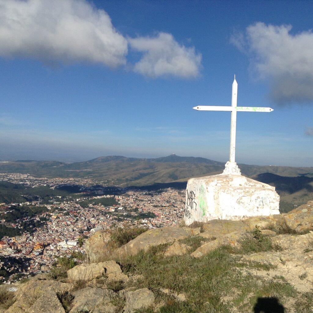Sirena, steep hike outside Guanajuato, Mexico.