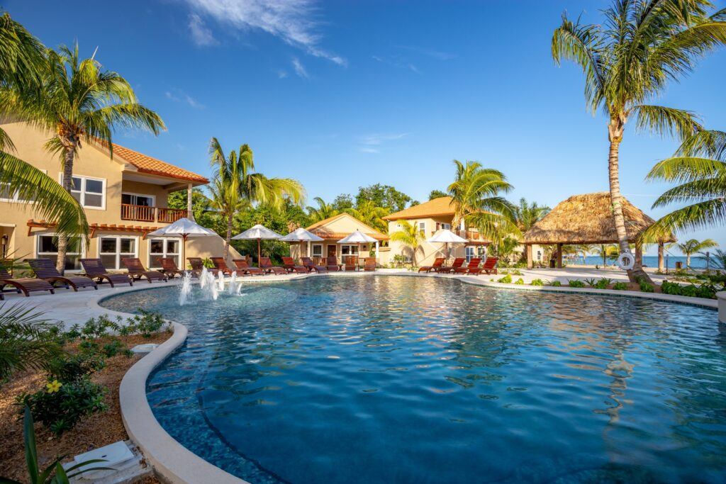 Sirenian Bay Resort and Villas in Belize.