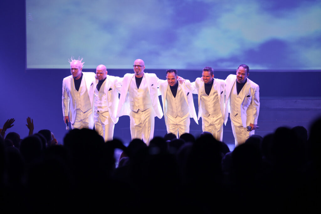 SIX takes a bow on stage in Branson, Missouri.