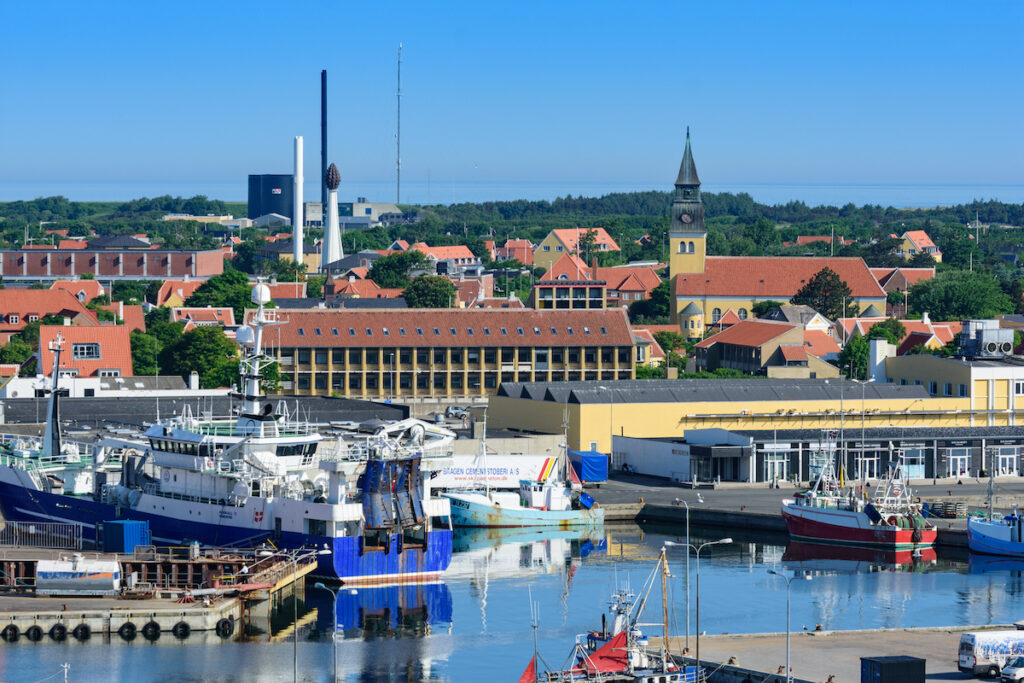 Skagen, Denmark, in June.