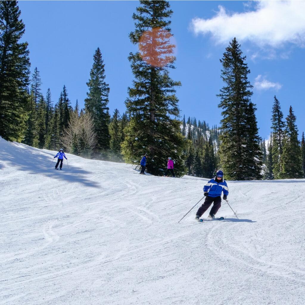 Ski at Aspen Snowmass in Colorado.