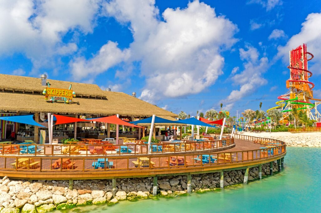 Skipper's Grill on CocoCay.