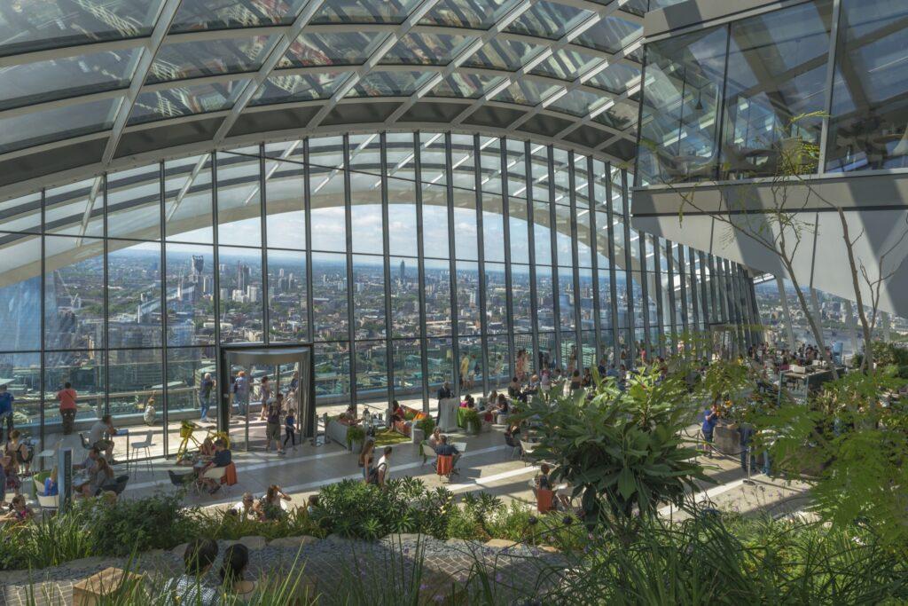Sky Garden in London.