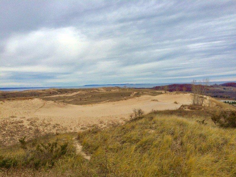 Sleeping Bear Dunes National Lakeshore in Michigan.
