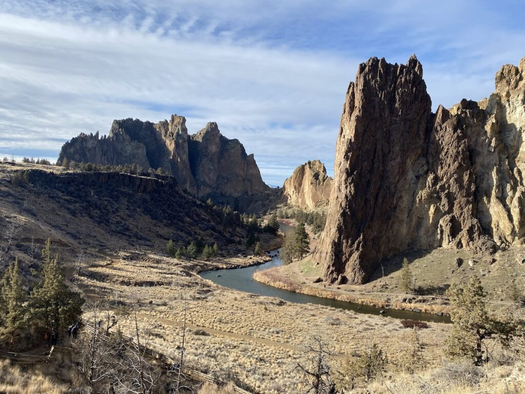 Smith Rock State Park in Central Oregon.