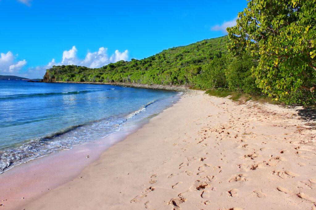 Smuggler's Cove in Tortola, British Virgin Islands.