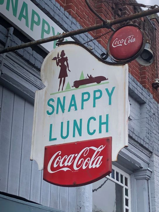 Snappy Lunch in Mt. Airy, North Carolina.