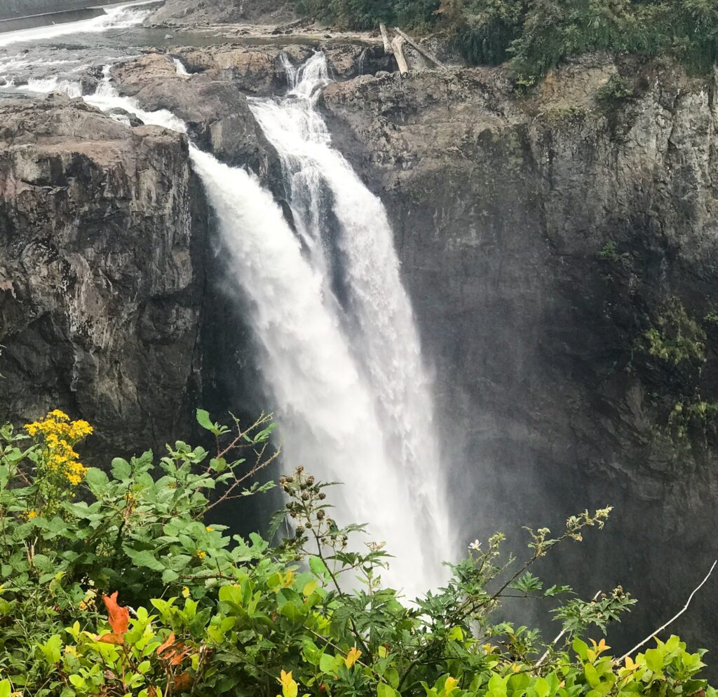 Snoqualmie Falls in Washington.