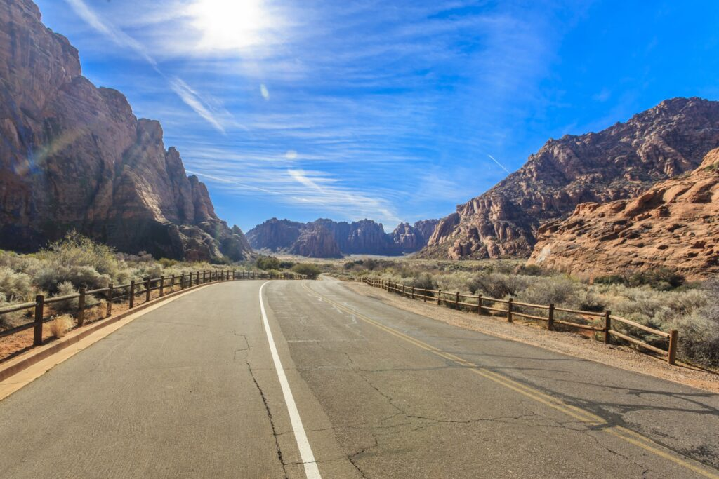 Snow Canyon State Park in Utah.