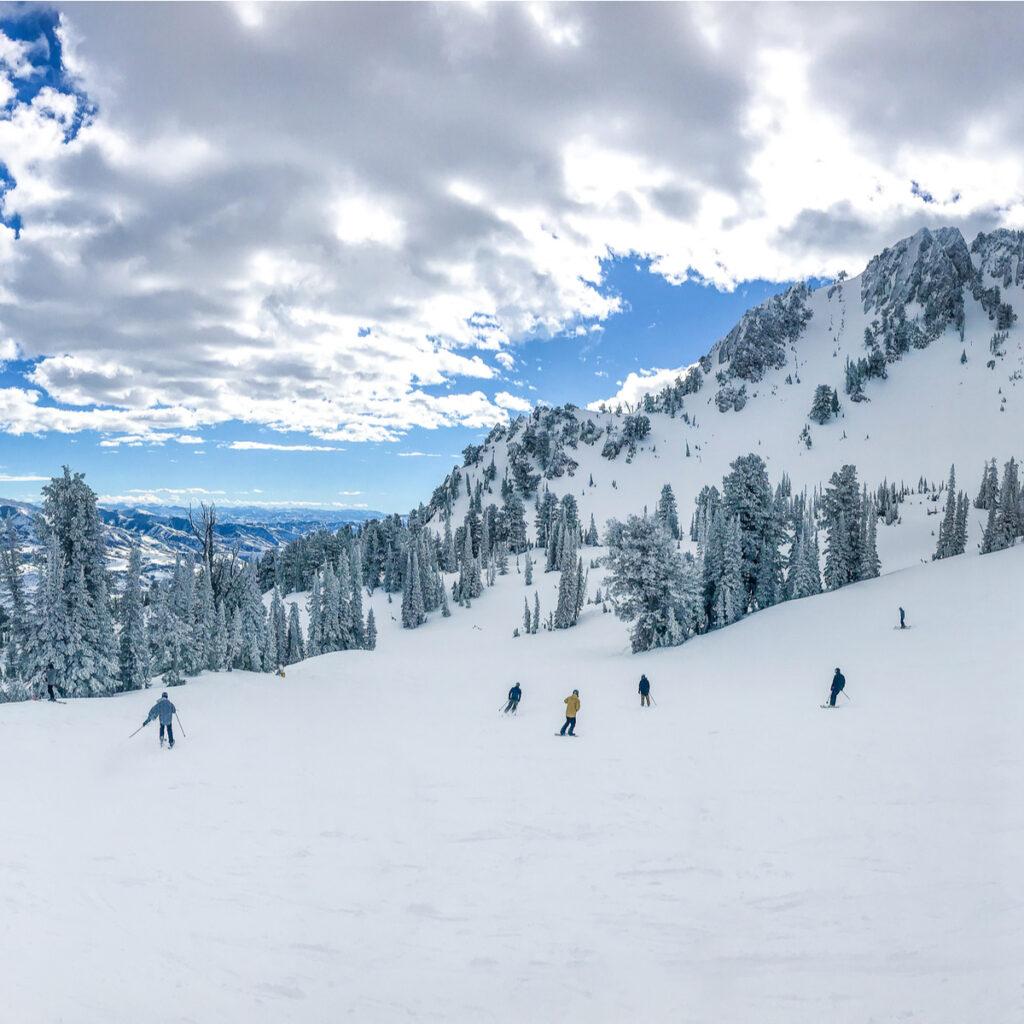 Snowbasin Resort in Utah.