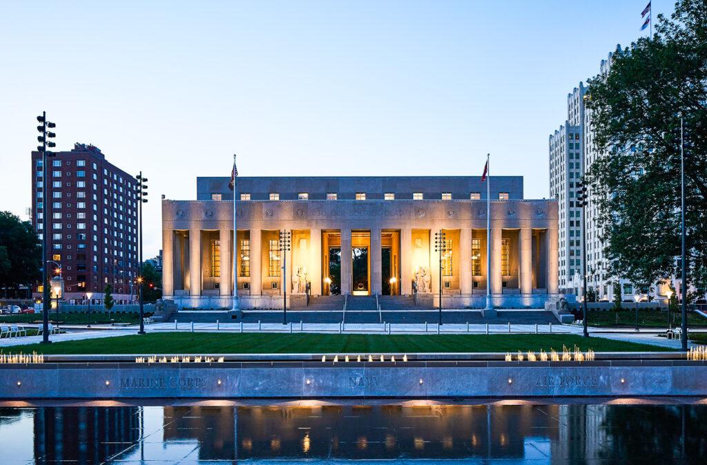 Soldiers Memorial in St. Louis.
