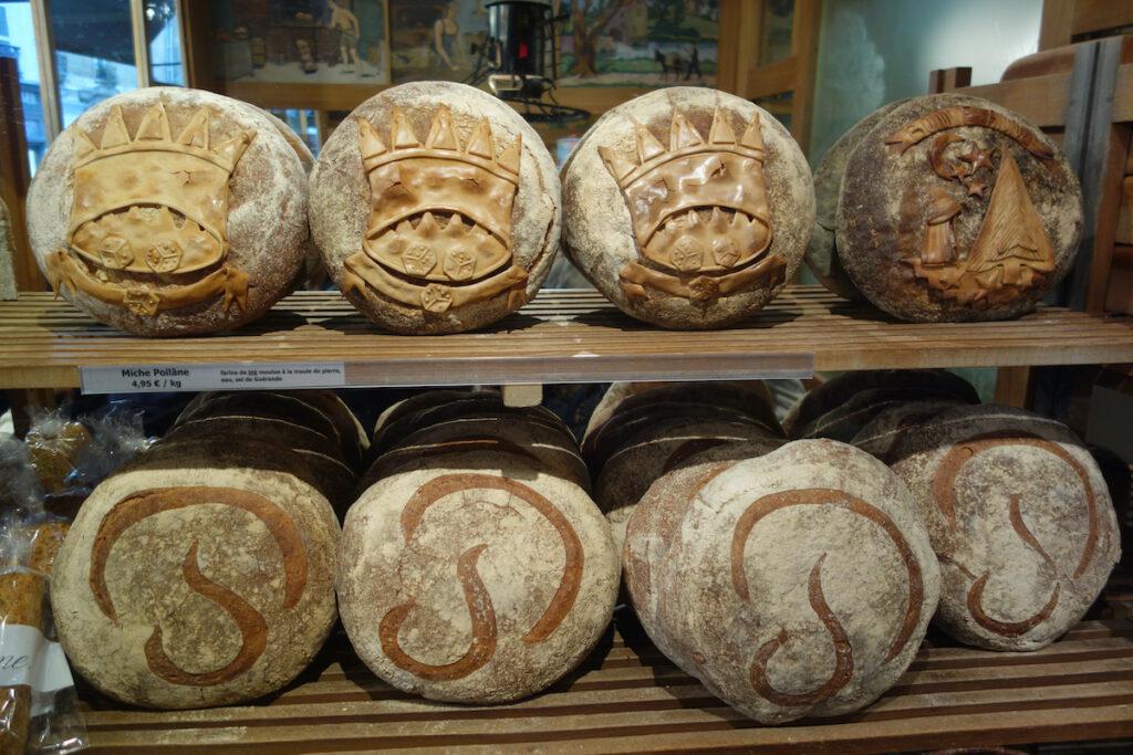 Sourdough bread from Poilane in Paris.