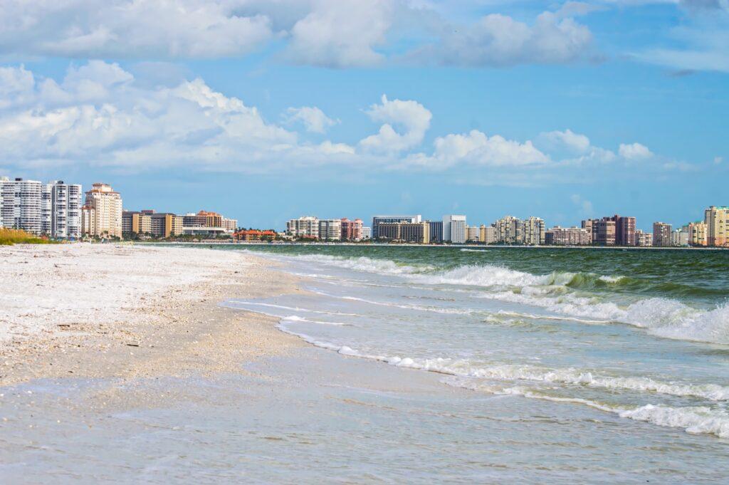 South Marco Beach in Florida.