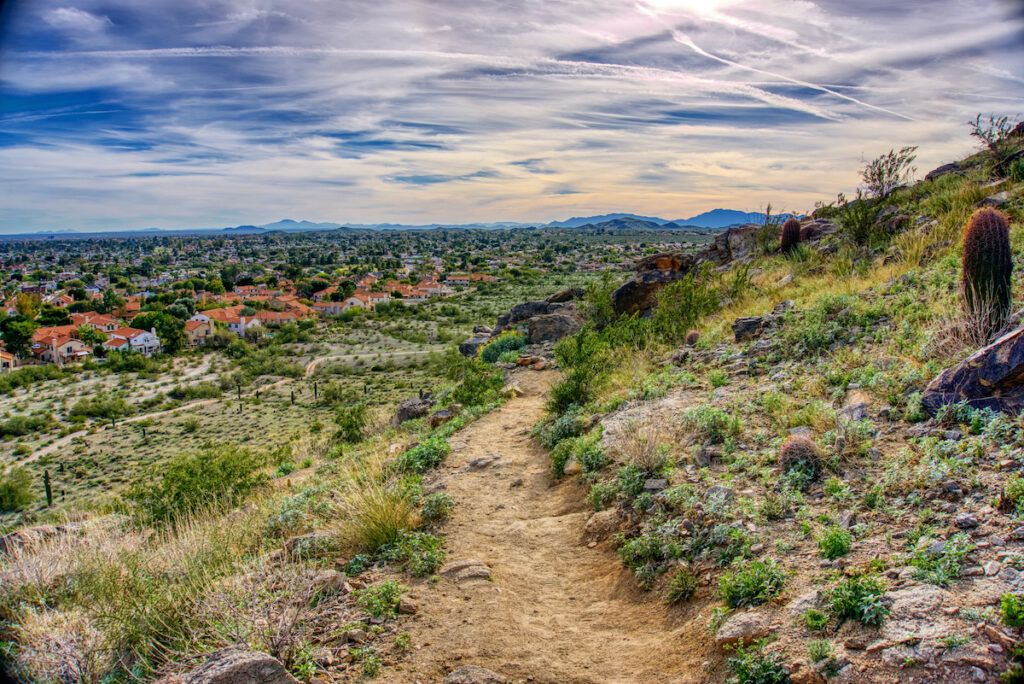 South Mountain Park And Preserve in Phoenix.