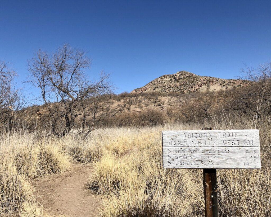 Southern Terminus Of The Arizona Trail.