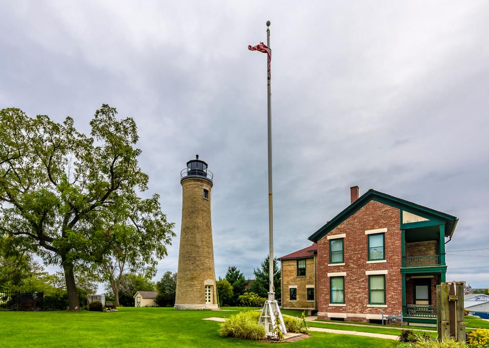 Southport Light Station Museum in Kenosha, Wisconsin.