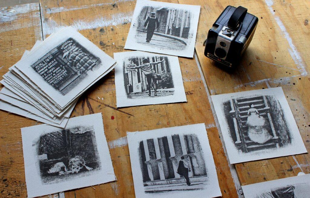 Souvenir prints from Hiperfocal Fotografia Taller Galeria.