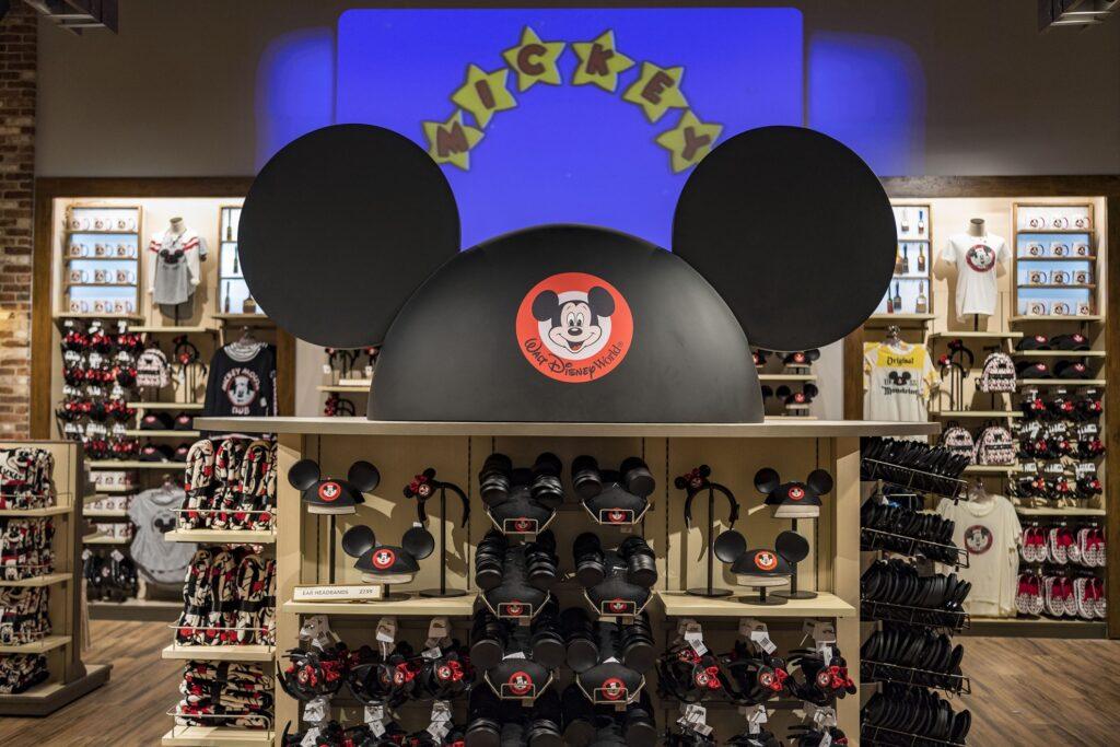 Souvenir shop in Disney World.