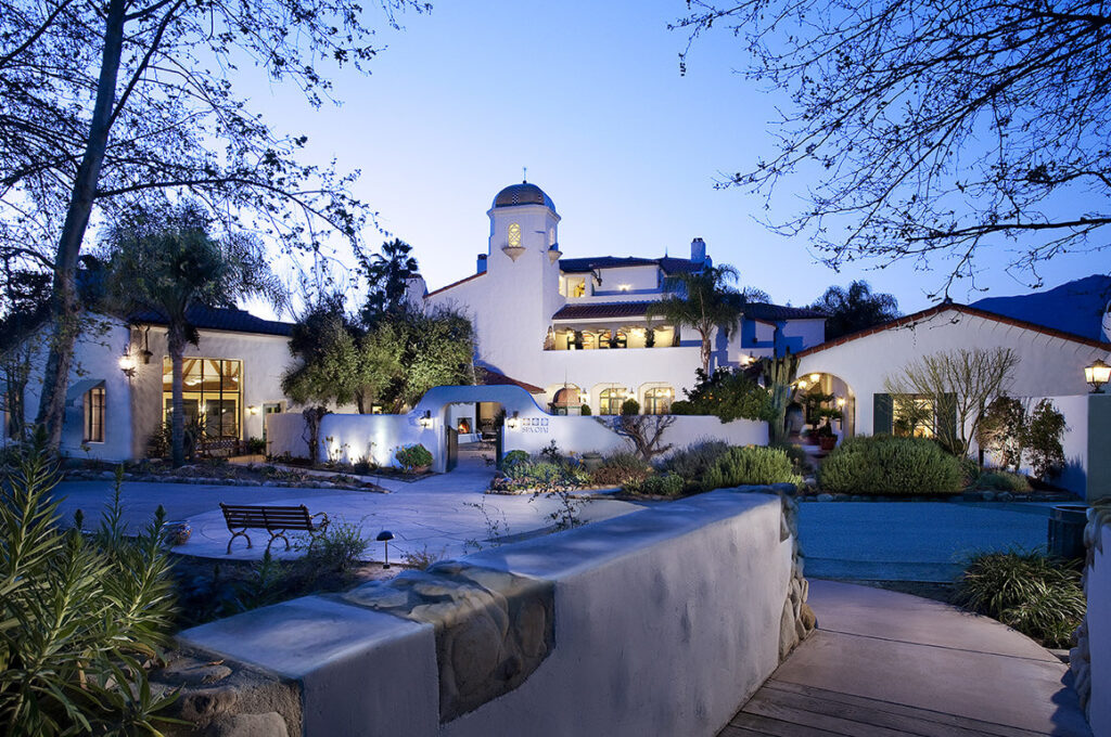 Spa Ojai at the Ojai Valley Inn in California.