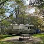 Spacious RV sites at Shenandoah National Park in Virginia.