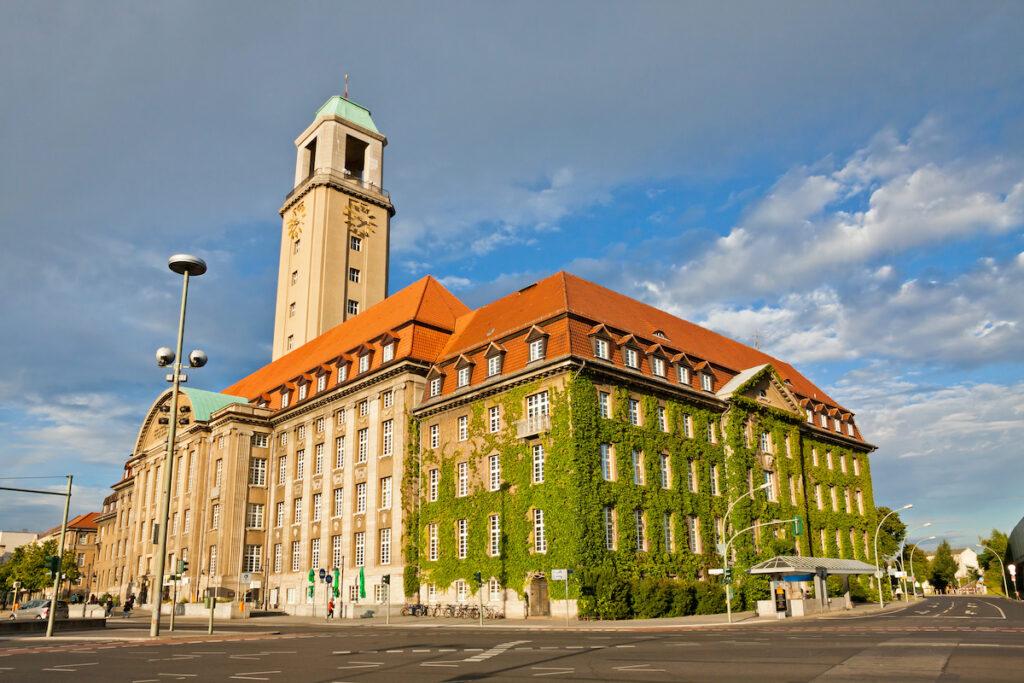 Spandau Town Hall in Berlin.