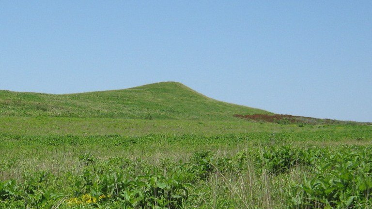 Spirit Mound Historic Prairie in Vermillion, South Dakota.