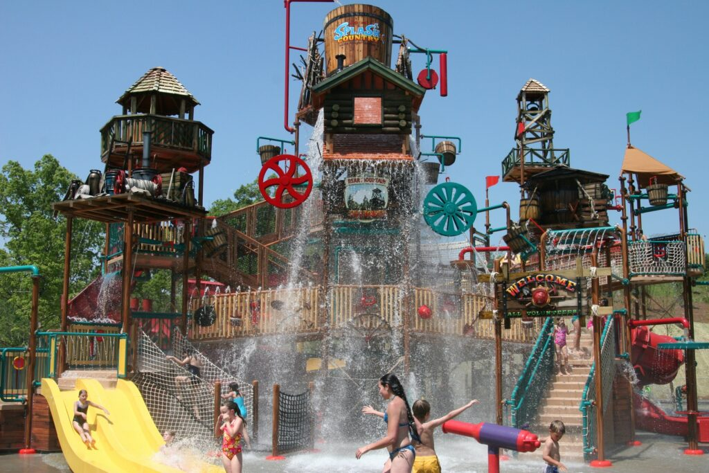 Splash Country water park at Dollywood.
