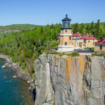Split Rock Lighthouse in Two Harbors, Minnesota.