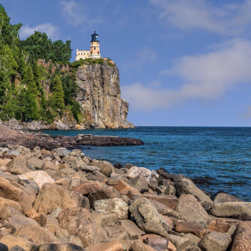 Split Rock Lighthouse State Park in Minnesota.