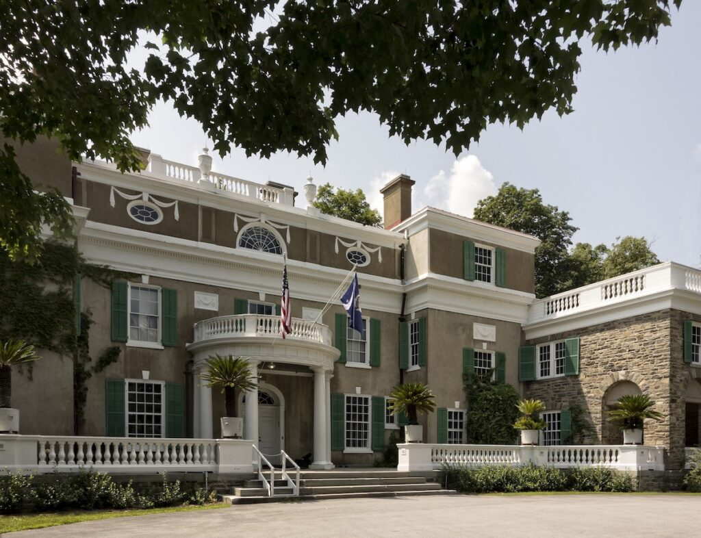 Springwood, the home of FDR, in the Hudson Valley.