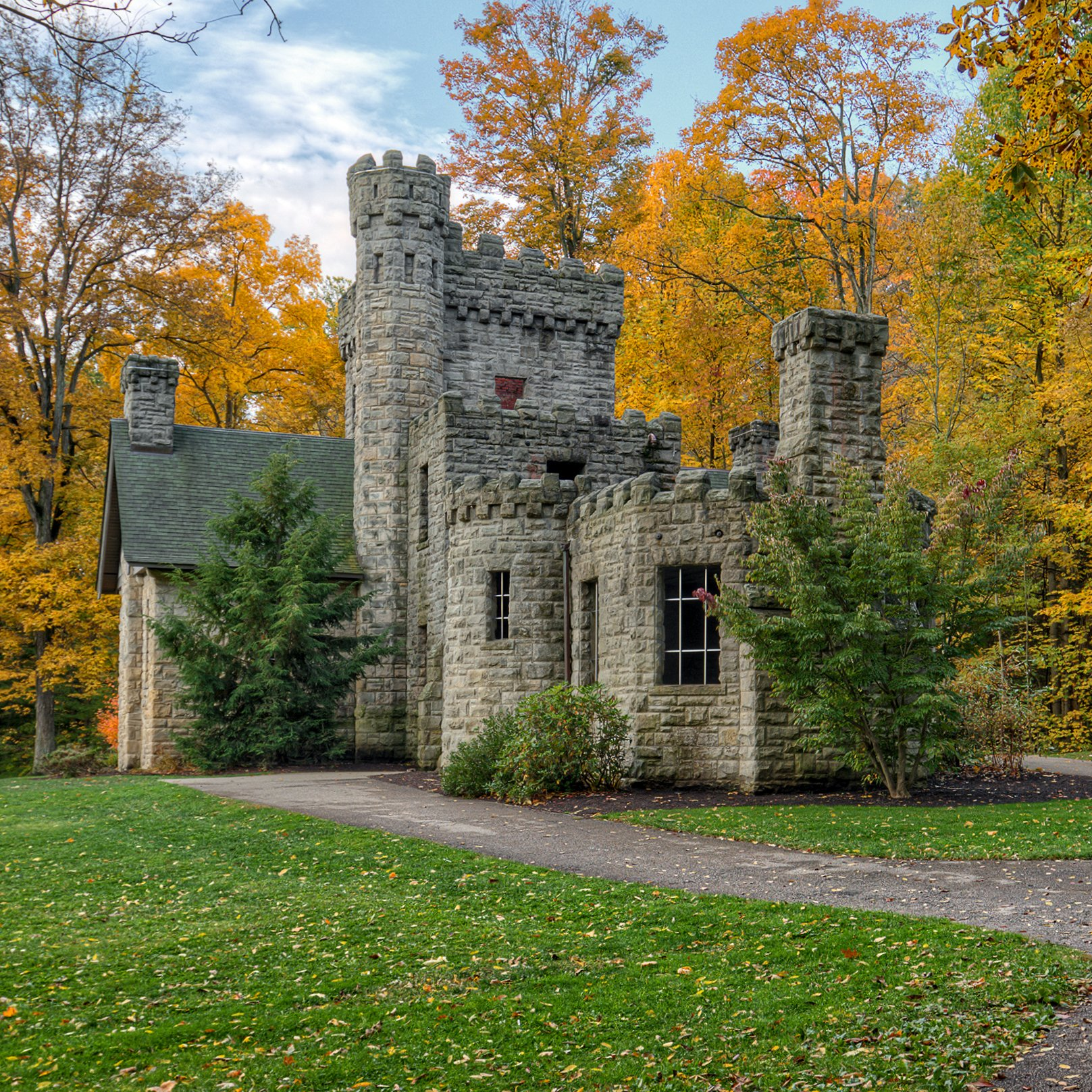 Squire's Castle in Willoughby Hills, Ohio.