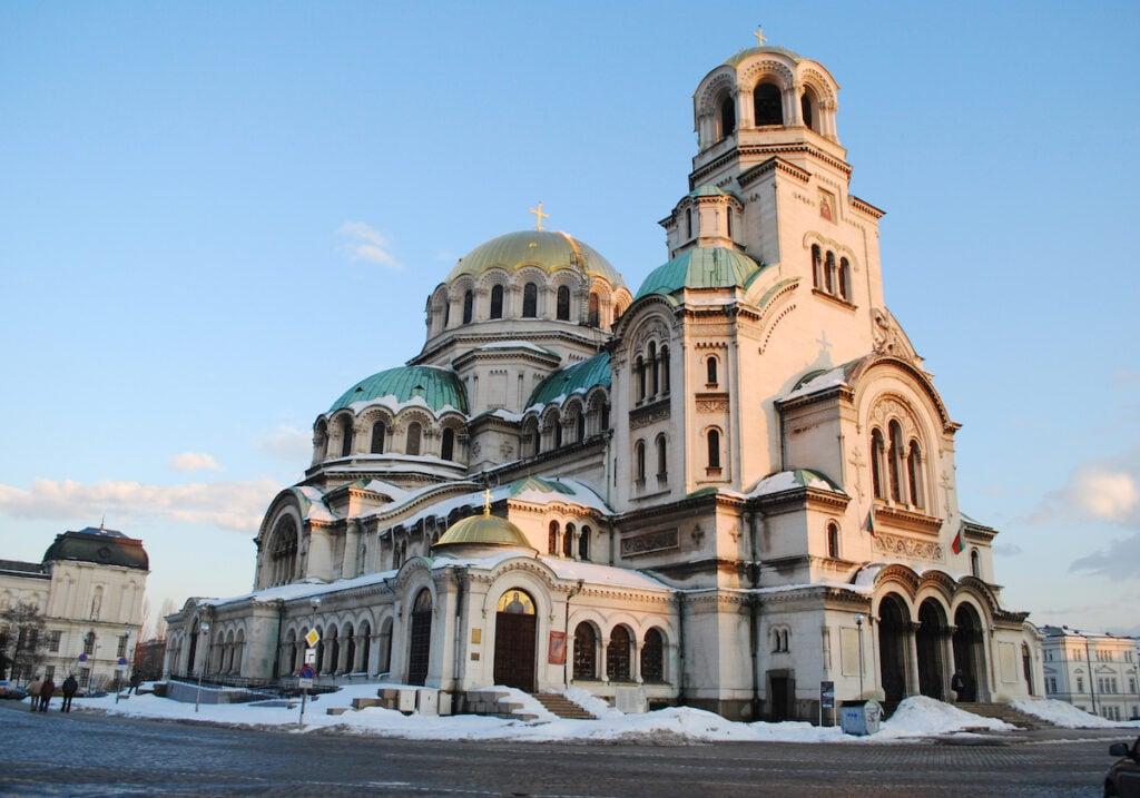 St. Alexander Nevski Cathedral in Sofia, Bulgaria.