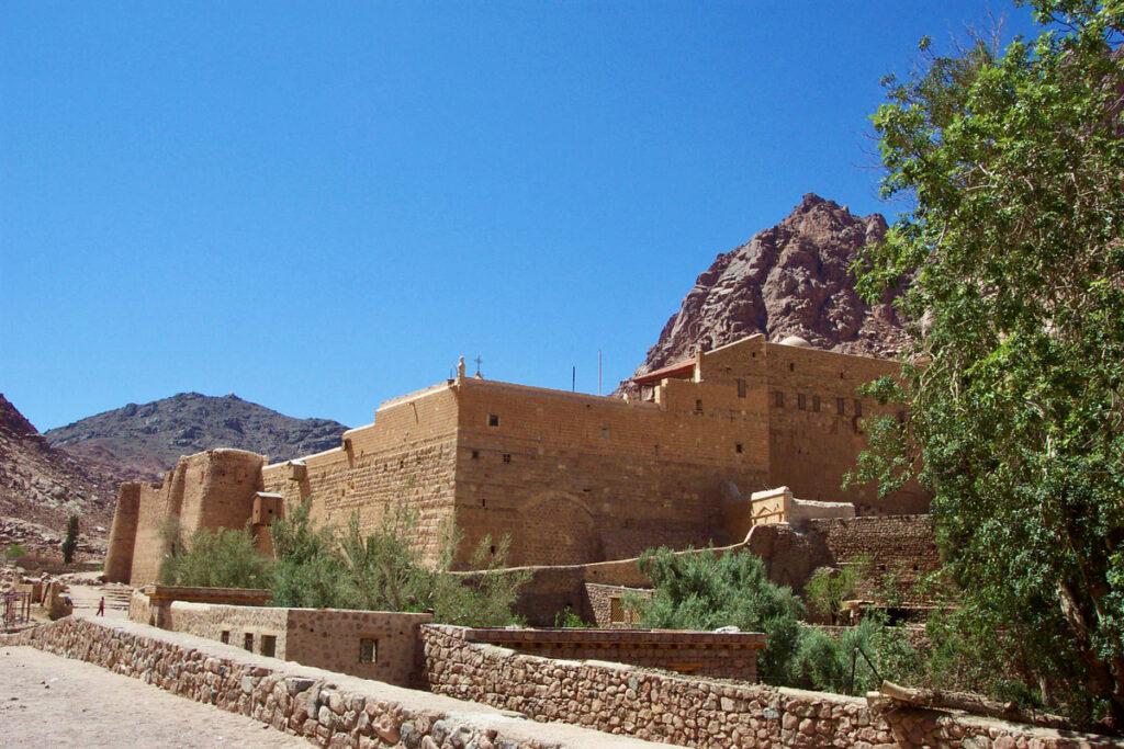 St. Catherine's Monastery in Egypt.