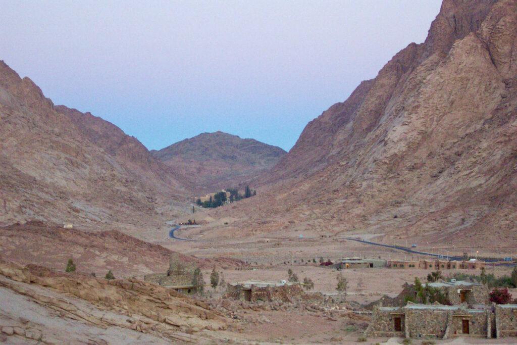 St. Catherine's Village near Mt. Sinai in Egypt.