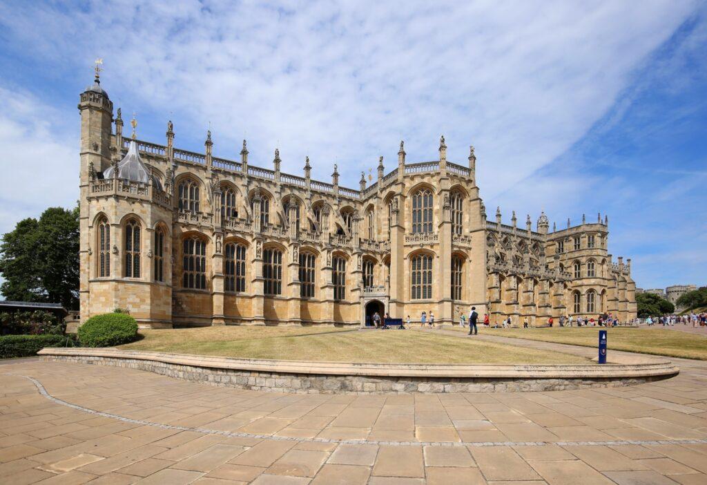 St George's Chapel at Windsor Castle.