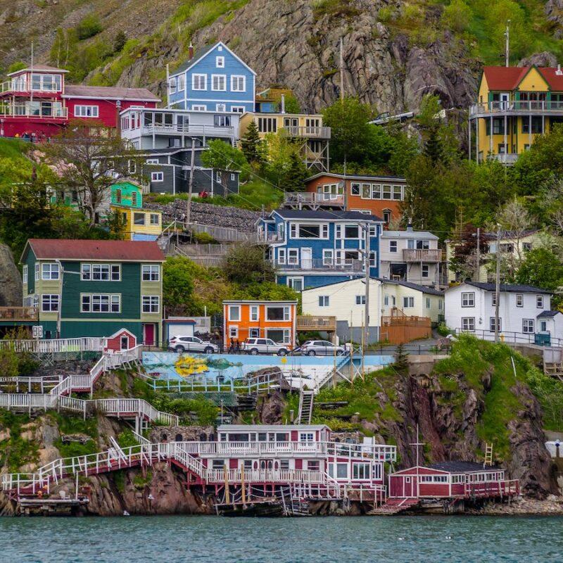 St. John's in Newfoundland and Labrador, Canada.
