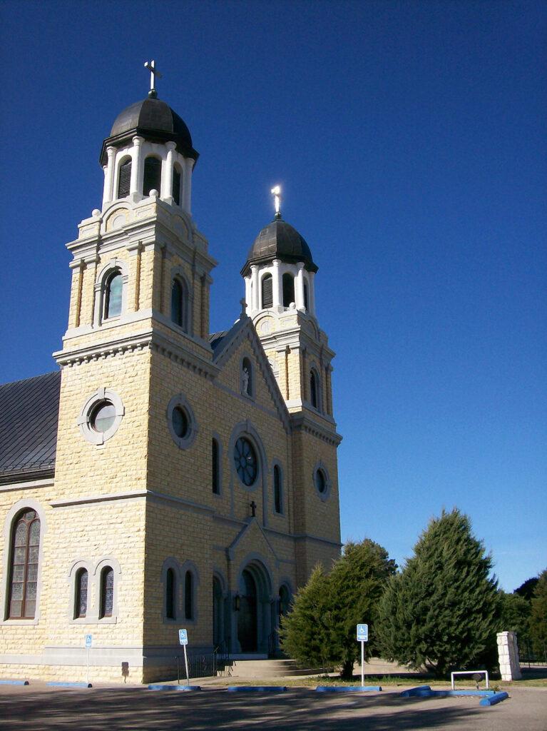 St. Joseph's Catholic Church in Damar, Kansas.