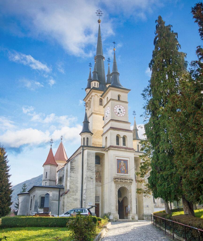 St. Nicholas Orthodox Church in Brasov, Romania.