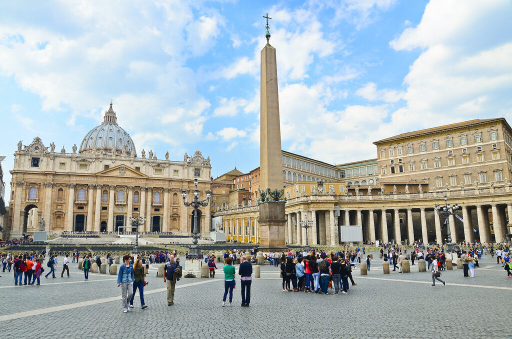 St. Peter's Basilica in Vatican City.