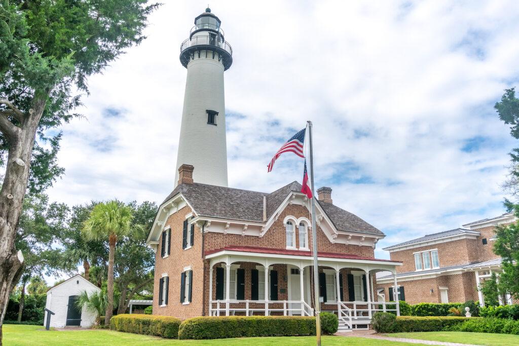 St. Simons Island Lighthouse in Georgia.
