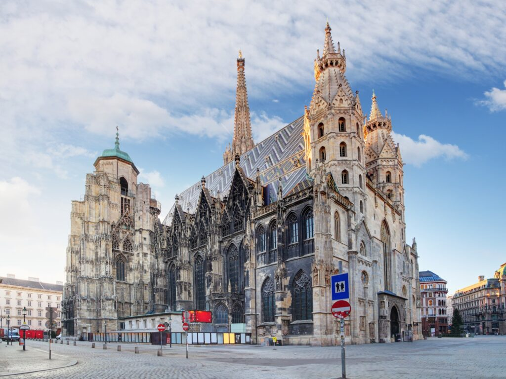 St. Stephen's Cathedral in Vienna.